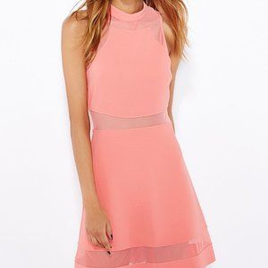 Pink Topshop Skater Tennis Dress
